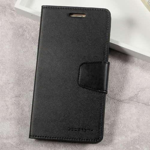 Black Galaxy A5 (2017) Mercury Sonata Diary Card Slots Wallet Case - 1