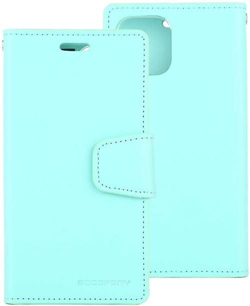 Mint iPhone 11 Pro Genuine Mercury Sonata Wallet Diary Case - 1