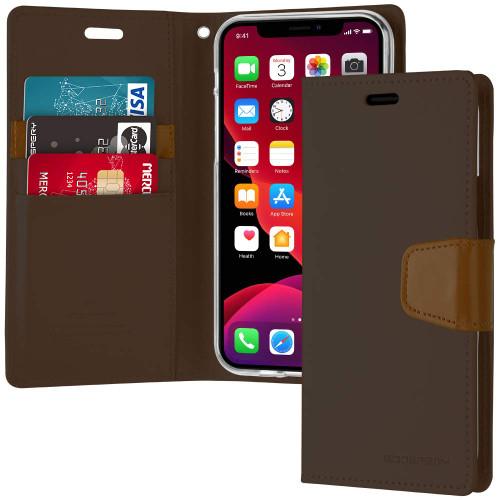Vintage Brown iPhone 11 Genuine Mercury Sonata Diary Wallet Case - 1
