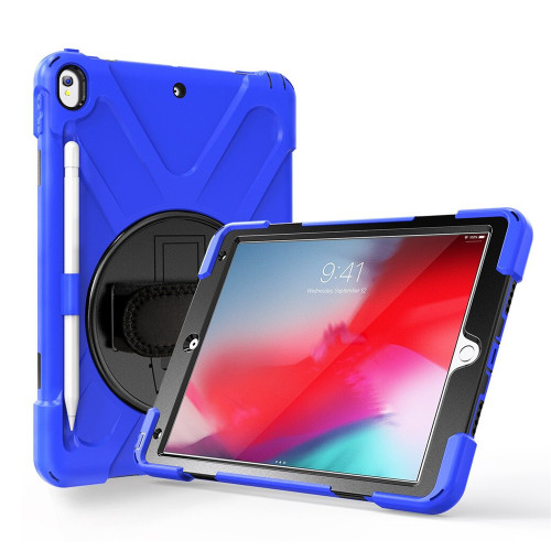 "Blue Apple iPad Air 3 10.5"" 2019 Heavy Duty Shoulder Strap Case - 1"