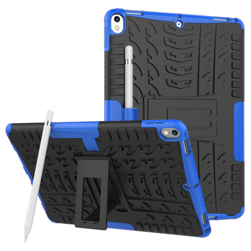 "Blue Apple iPad Air 3 10.5"" Shock Proof Hybrid Kickstand Case - 1"