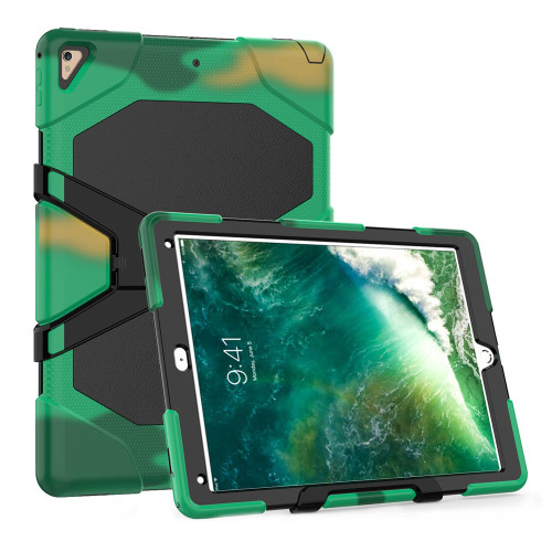 "Army Camo Apple iPad Air 3 10.5"" 2019 Military Shock Proof Stand Case - 1"