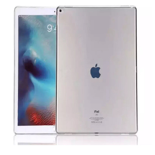 iPad Air 2 Clear Case Soft Gel Silicone Transparent Case Cover - 1