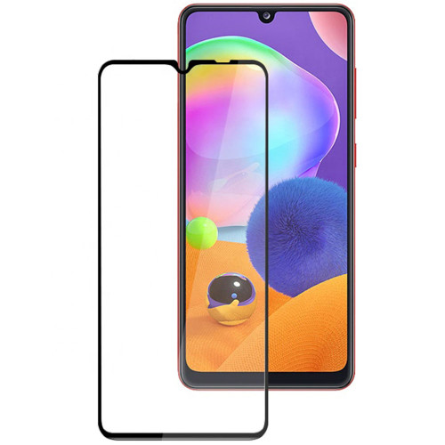 Full Cover Tempered Glass Screen Protector For Galaxy A31 - 1