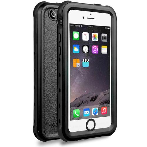 iPhone SE 1st Gen (2016) Waterproof Dirtproof Heavy Duty Case - Black - 1