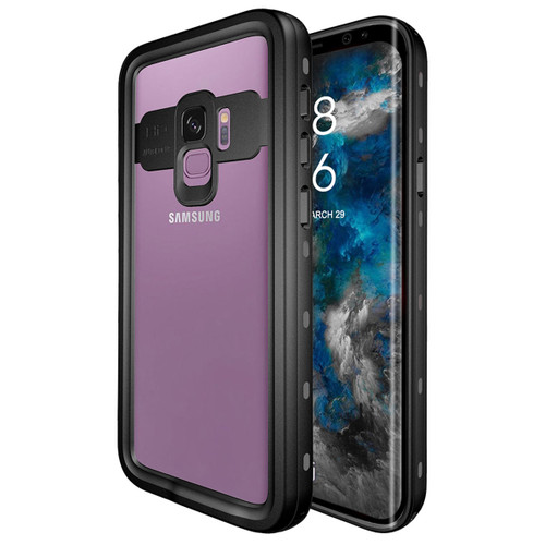 Black Samsung Galaxy S9 Waterproof Dirtproof Shock Proof Case - 1