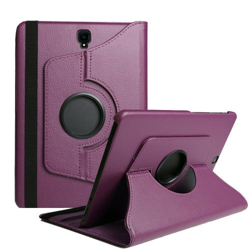 Purple Samsung Galaxy Tab S4 10.5 360 Rotating Sythetic Leather Case