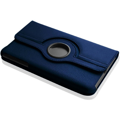 Navy Galaxy Tab A 8.0 (2015) T350 T355 360 Rotating Stand Case - 1
