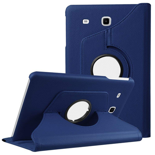 Premium Navy Galaxy Tab A 7.0 (2016) 360 Degree Rotating Stand Case - 1