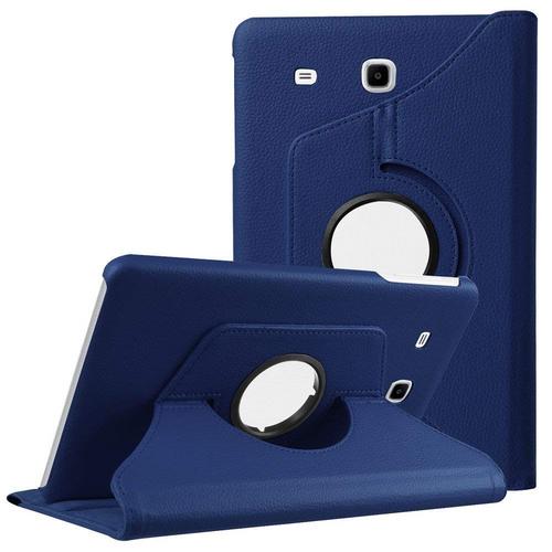 Premium Navy Galaxy Tab A 7.0 (2016) 360 Degree Rotating Stand Case - 1