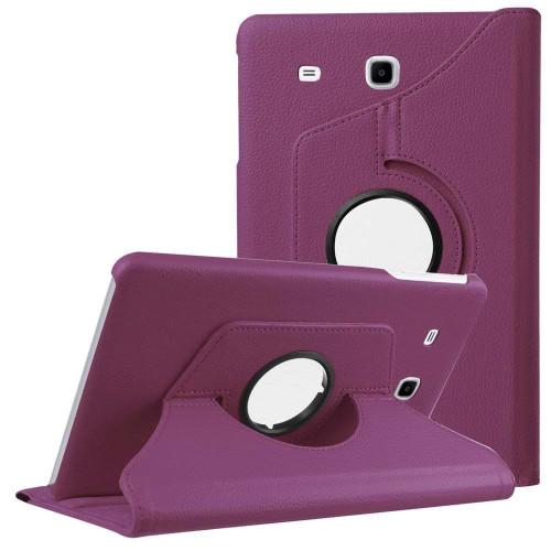Purple Galaxy Tab A 7.0 (2016) 360 Degree Rotating Folio Stand Case - 1