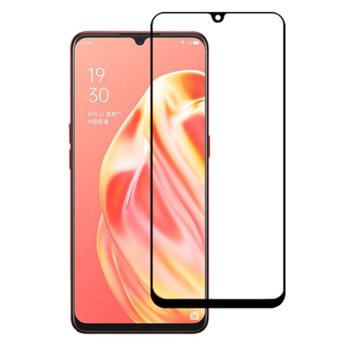 9D Full Cover Tempered Glass Screen Protector For Oppo A91 - 1