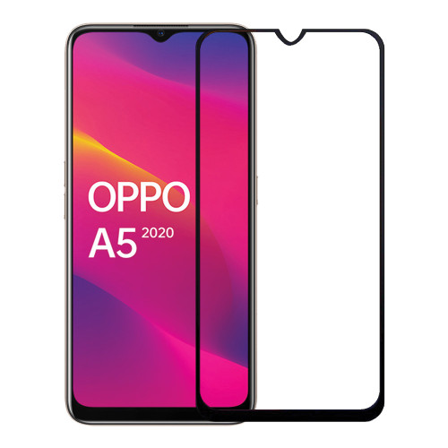 9D Full Cover Tempered Glass Screen Protector For Oppo A5 / A9 2020 - 1
