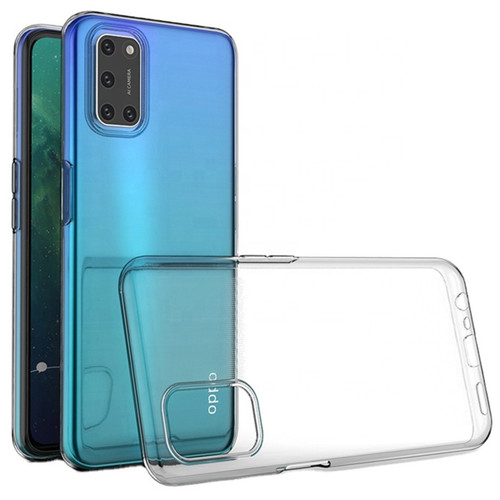 Clear Ultra Slim Soft Gel Case Cover Protector For Oppo A72 - 1
