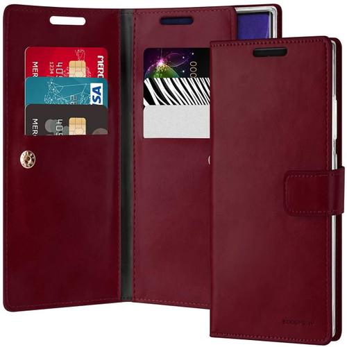 Classy Wine Galaxy Note 20 Ultra Mercury Mansoor Wallet Case Cover - 1
