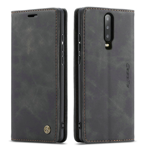 Black Oppo R17 Pro CaseMe Compact Flip Premium Wallet Case - 1