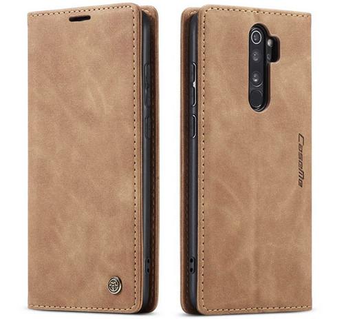 Vintage Brown Oppo R17 CaseMe Compact Flip  Wallet Case  - 1