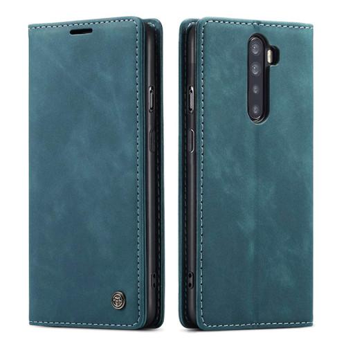 Blue CaseMe Magnetic Compact Flip Wallet Case For Oppo Reno 2z - 1