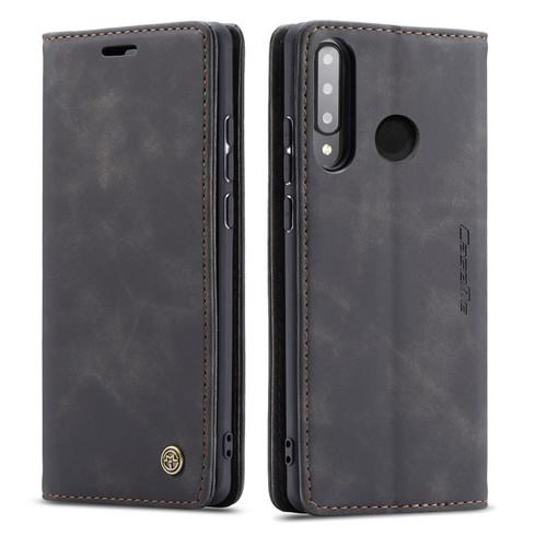 Black Genuine CaseMe Compact Flip Wallet Case For Huawei P30 Lite  - 1
