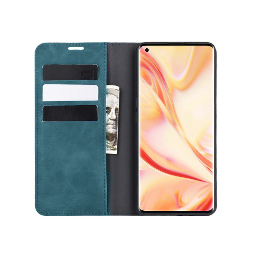 Blue Huawei Nova 5T Premium CaseMe Thin Magnetic Wallet Case - 1