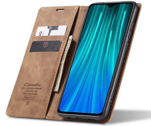 Brown Huawei Mate 20 CaseMe Premium PU Leather Wallet Case - 1