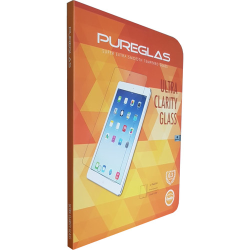 "iPad 6th Gen (2018) 9.7"" PUREGLAS 3D Tempered Glass Screen Protector - 1"