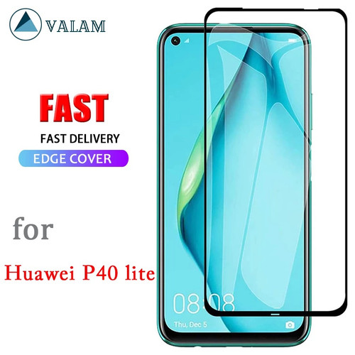 Clear 9D Tempered Glass Screen Protector For Huawei P40  - 1
