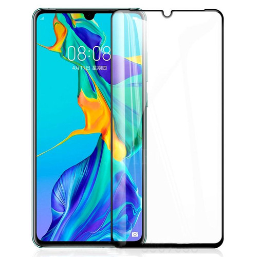 Clear 9D Tempered Glass Screen Protector For Huawei P30  - 1