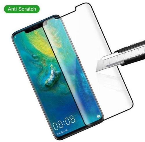 Clear 9D Tempered Glass Screen Protector For Huawei Mate 20 pro  - 1