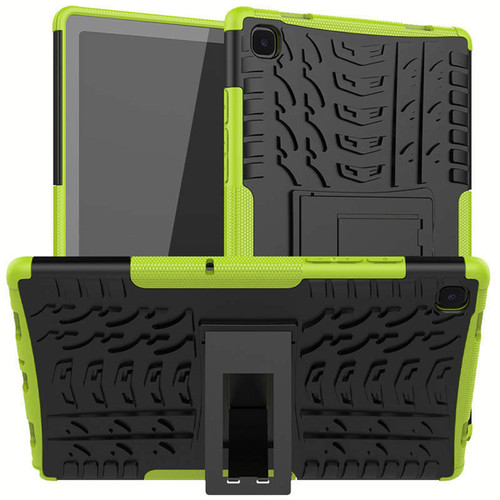 """Green Heavy Duty Stand Case For Samsung Galaxy Tab A 10.4"""" T505 T500 - 1"""