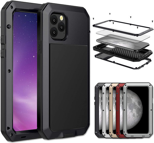 Apple iPhone 11 Water Resistant Heavy Duty Full Body Metal Case - 1