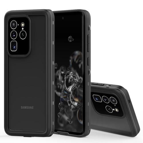 Black Samsung Galaxy S20 Ultra Waterproof Dirtproof Shock Proof Case - 1