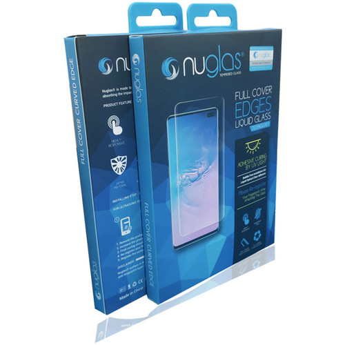 Galaxy S10 NUGLAS Full Cover UV Glue Tempered Glass Protector - 1