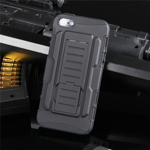 Apple iPhone 4 / 4S Military Heavy Duty Case w/ Optional Holster - 1