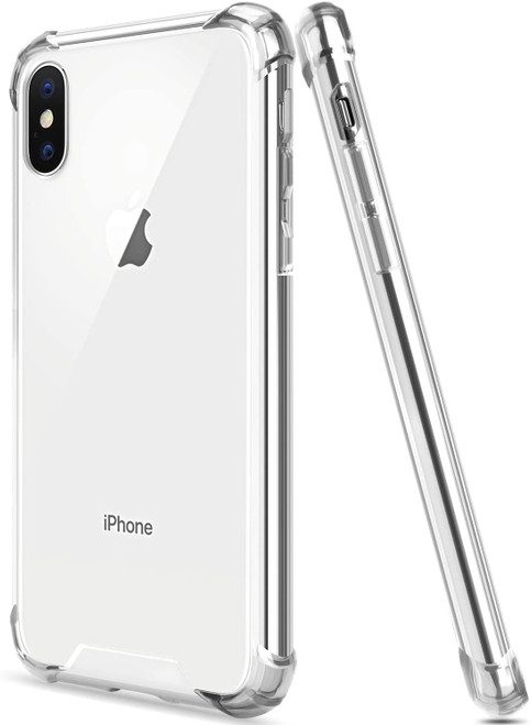 Apple iPhone XS Max Crystal Clear Protective Case Bumper Gel Case - 1