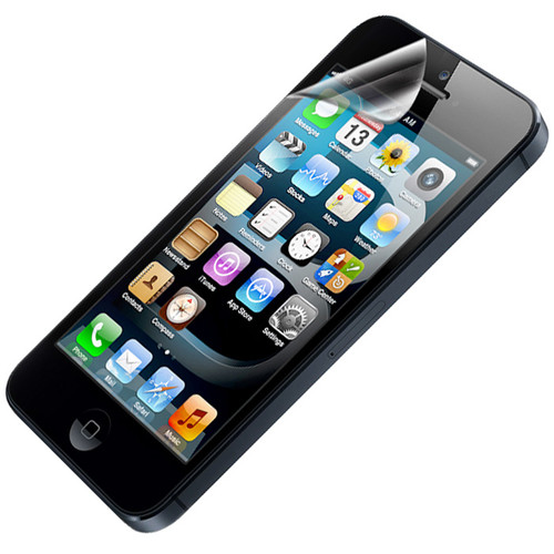 Clear LCD Screen Protector for Apple iPhone 5, 5C, 5S and