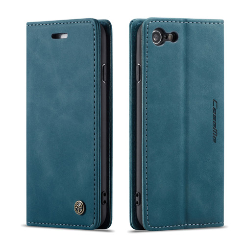 Quality Blue iPhone 6 Plus / 6S Plus CaseMe Compact Flip Wallet Case