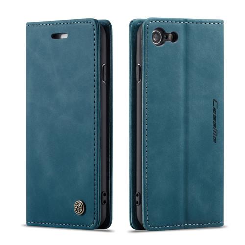 Quality Blue iPhone 6 Plus / 6S Plus CaseMe Compact Flip Wallet Case