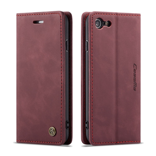 Classy Wine iPhone 7 Plus / 8 Plus CaseMe Compact Flip Wallet Case - 1