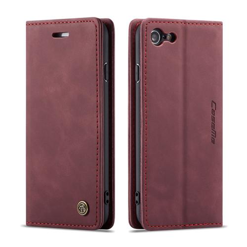 Classy Wine iPhone 7 Plus / 8 Plus CaseMe Compact Flip Wallet Case - 1