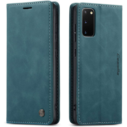 Blue Galaxy S20 CaseMe Wallet Classic Magnetic Closure Phone Case - 1