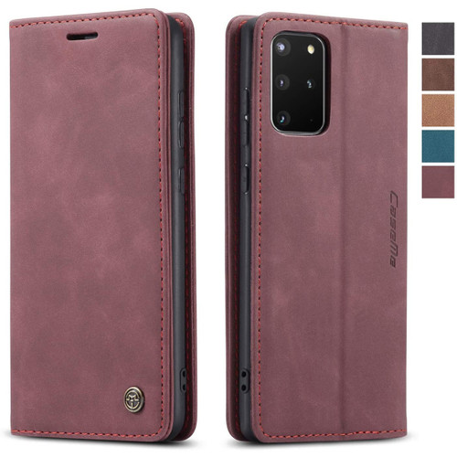 Classy Wine Galaxy S20 CaseMe Wallet Magnetic Card Holder Phone Case - 1