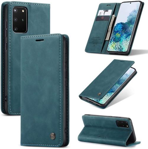 Blue Galaxy S20+ Plus CaseMe Wallet Classic Magnetic Closure Case - 1