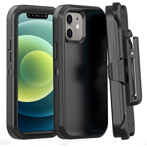 Apple iPhone 12 / 12 Pro Military Grade Drop Protection Holster Case - 1
