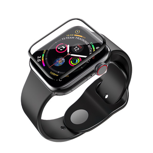 Apple Watch Series 1/2/3 (42mm) Full Cover Tempered Glass Screen Protector - 1