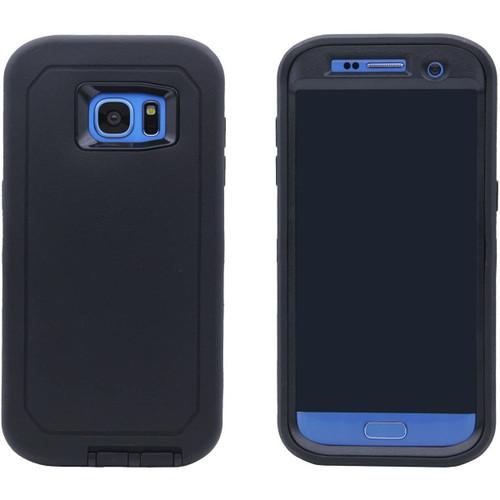Samsung Galaxy S7 Edge Heavy Duty Military Belt Clip Holster Case - 1