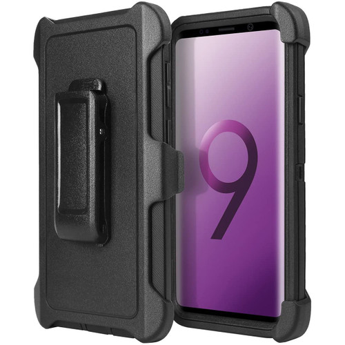 Tradies Heavy Duty Defender Holster Case For Samsung Galaxy S9 - 1