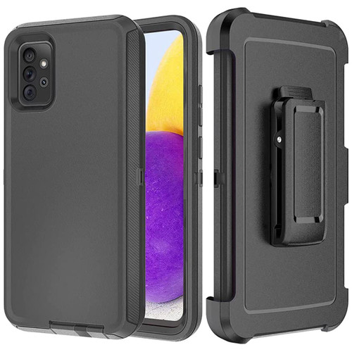 Samsung Galaxy A72 (4G/ 5G) Shock Proof Military Tough Holster Case - 1