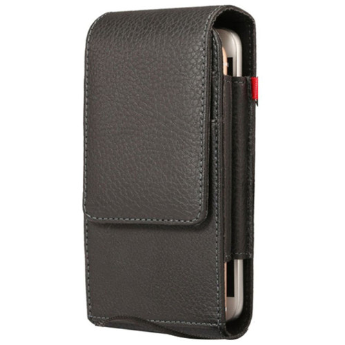 Universal 5.5 inch Vertical Holster Belt Clip Synthetic Leather Phone Case - 1