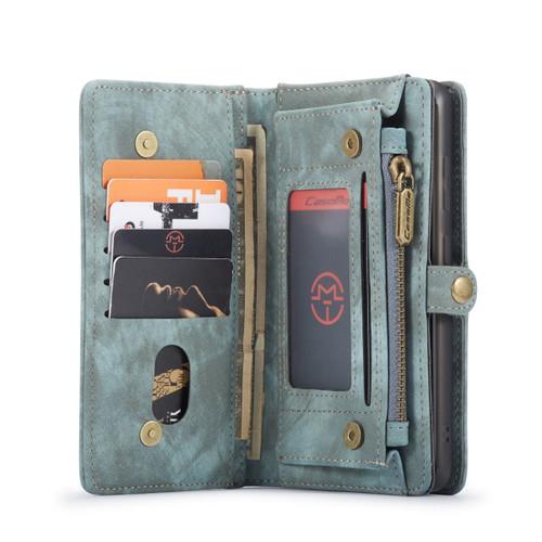 Blue CaseMe 11 Card Slot Wallet  Magnetic Case  For Galaxy S20 Plus  - 1